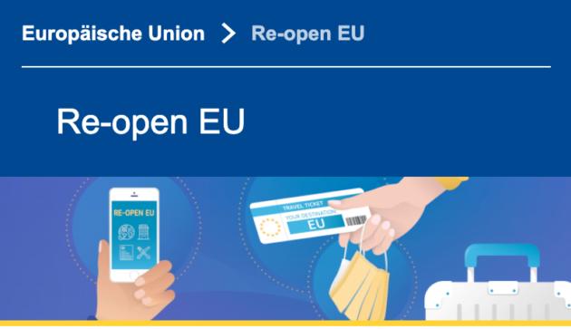 Re-open EU Banner