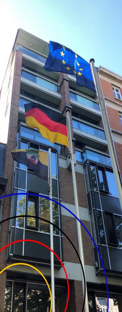 Gebäude der Landesvertretung in Brüssel