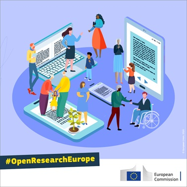 Open researche Europe Banner
